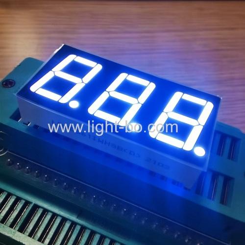 ультра-белый трехзначный 7-сегментный светодиодный дисплей с общим анодом 0,56 дюйма для отопления и охлаждения