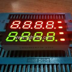 двухстрочный 0,28-дюймовый четырехзначный 7-сегментный светодиодный дисплей с общим анодом для индикатора температуры