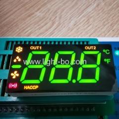 3 1/2 цифры зеленый / желтый / красный 7-сегментный светодиодный дисплей общий анод для управления холодильником