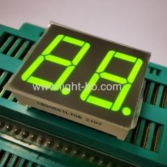 двухзначный 0,56-дюймовый сверхяркий зеленый 7-сегментный светодиодный дисплей с общим катодом