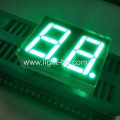 чистый зеленый 14,2 мм двухзначный 7-сегментный светодиодный дисплей общий катод для приборной панели