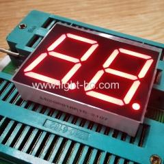 ультра красный 0,8-дюймовый двухразрядный 7-сегментный светодиодный дисплей общий анод для приборной панели