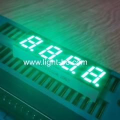 """Чистый зеленый 0,28 """"4-значный 7-сегментный светодиодный индикатор общего анода для контроля влажности воздуха"""