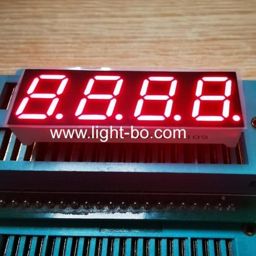 супер яркий красный 0,39 дюйма, 4 цифры, 7 сегментов, светодиодный дисплей, общий катод для регулятора температуры