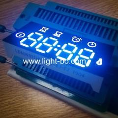 ультра белый 4 цифры 7 сегментный светодиодный дисплей часов общий анод для контроллера духовки