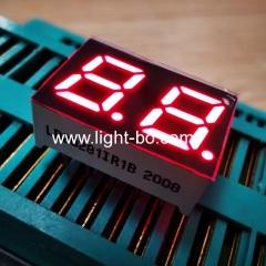 супер яркий красный 2-значный 7-миллиметровый (0,28 дюйма) 7-сегментный светодиодный дисплей, общий анод для приборной панели