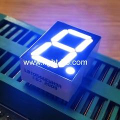 ультра белый одиночный разряд 14,2 мм 7-сегментный светодиодный дисплей общий катод для приборной панели 12,5 * 17,4 мм