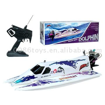 R C Gasoline Boat