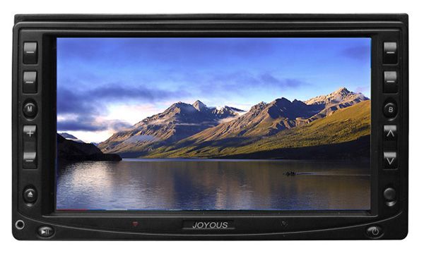 6.5inch Double Din DVD monitor with FM with AM with Amplifier