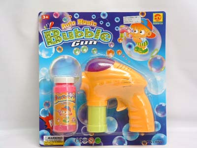 Automatic Bubble Gun With Music & Light