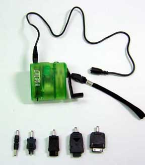 hand dynamo charger
