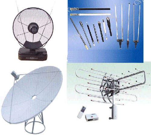 ROD  TV  INDOOR  ANTENNA  Satellite Antenna ROTATING  ANTENNA