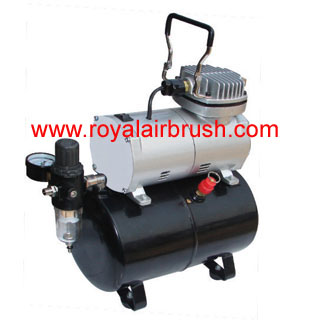 1/5Hp Airbrush Compressor with Tank