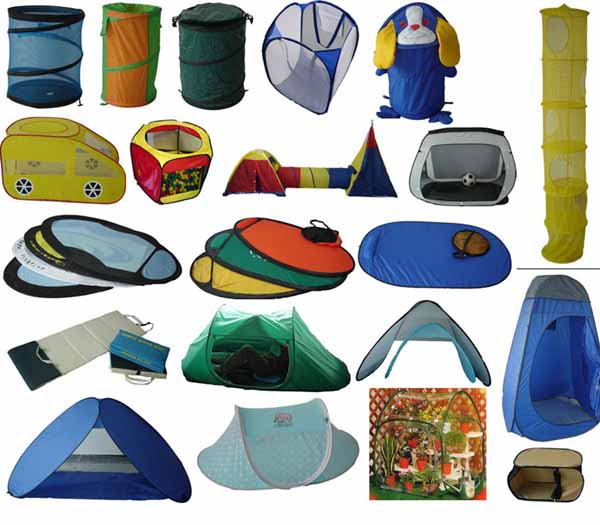 pop up tent and pop up hamper