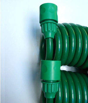 Plastic Fittings for Coiled Hoses