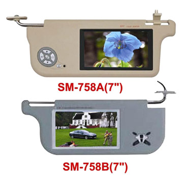 Car TFT-LCD TV Monitor