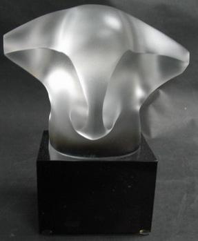 Crystal animal's figurine