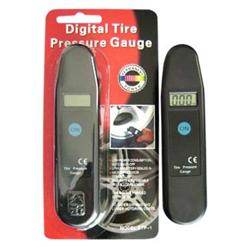 Auto Accessories - Digtal Tire Pressure Gauge