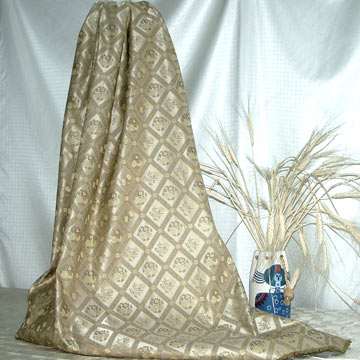 Yarn-Dyed Silk Jacquard