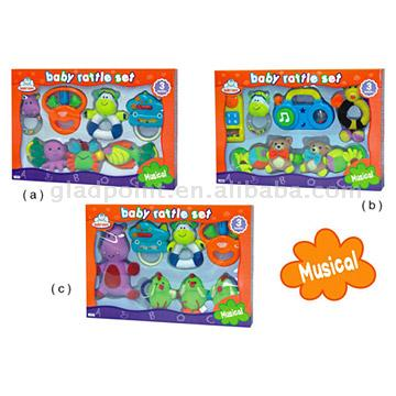 5pc Rattle Set