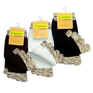 Raw Silk Socks
