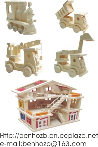 Solid Wood Toys