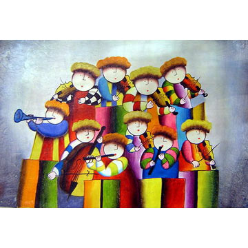 Cartoon Painting From China Manufacturer