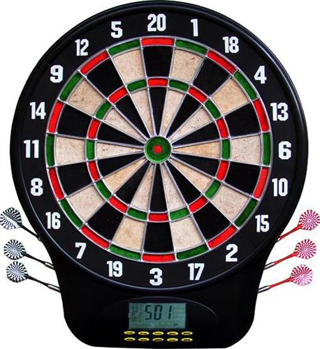 LCD Bristle Electronic Dartboard