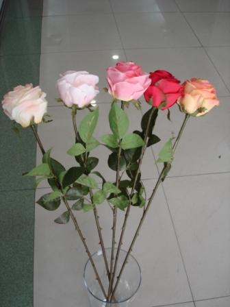 real touch artificial rose
