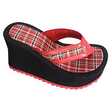 High Heel Ladies' Slippers