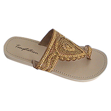 women beach slipper