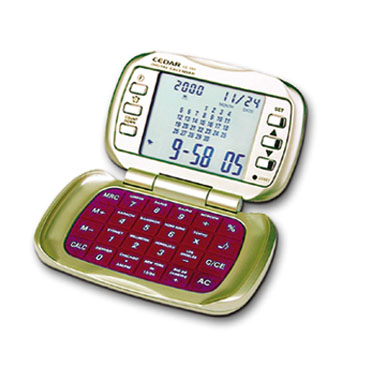 Pocket Calculator w- Calendar Clock
