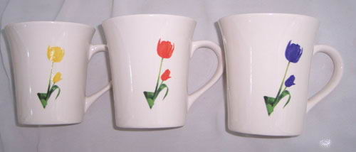 New Bone  China Mugs