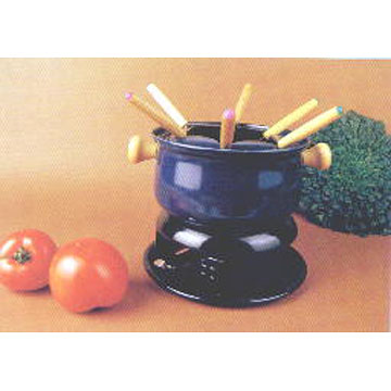 Carbon Steel Fondue Sets