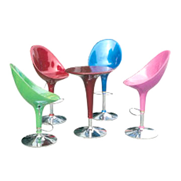 Colourful bar chair
