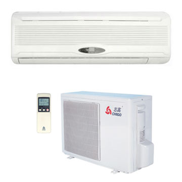 Split type wall air conditioners guangdong chigo air for 12500 btu window air conditioner