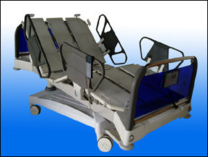 Luxury three-dimensional electric medical bed