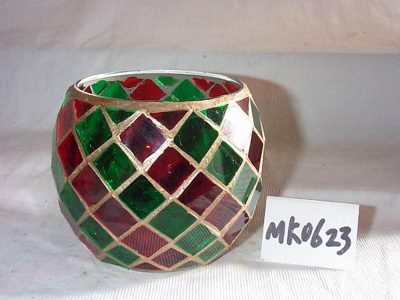 Mosaic Art Glassware