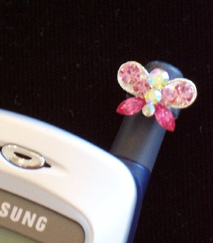 Cell Phone Antenna Charm