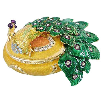 Colored Pattern Artistic Jewelry Boxes