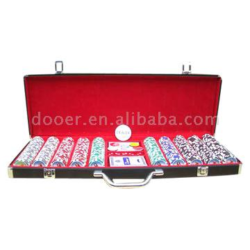 Top Grade 500pcs Poker Chip Sets