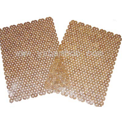 Bamboo bead placemat