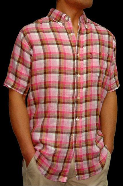 man's linen shirt