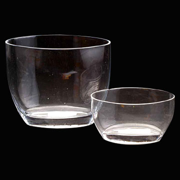 Ellipse Glass Vases