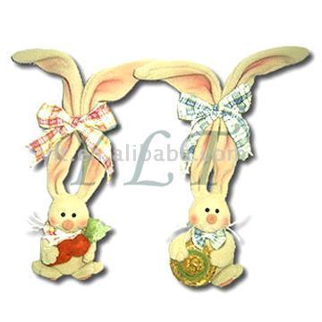 Bunny Door Hangers