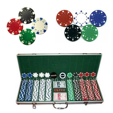 Poker Chips, Casino Chip Sets