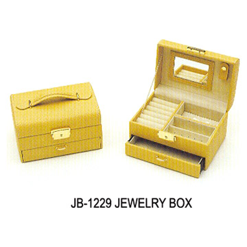 Leather Jewelry Boxes