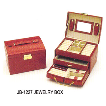 Embossed Paper Jewelry Box