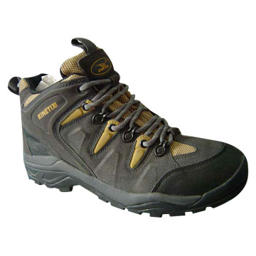 Man Hiking Shoes