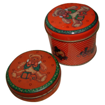 Candle Tin Boxes